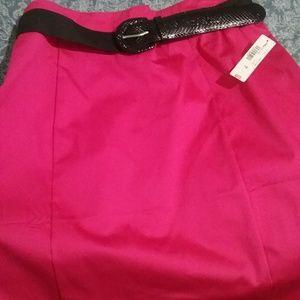 🎀 A-line Skirt w/belt